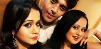 Sangeeta Tiwari with Ravi kishan