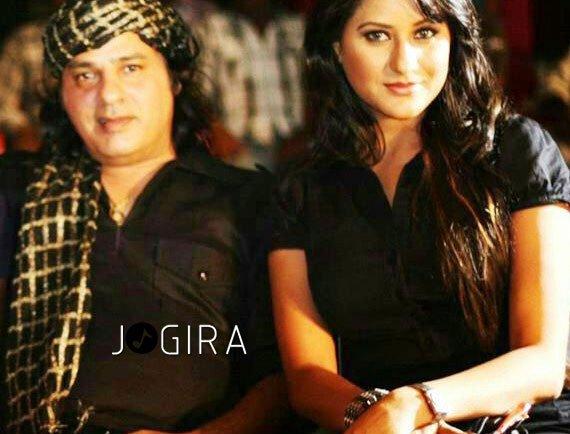 Rakhi Tripathi with Rahul roy