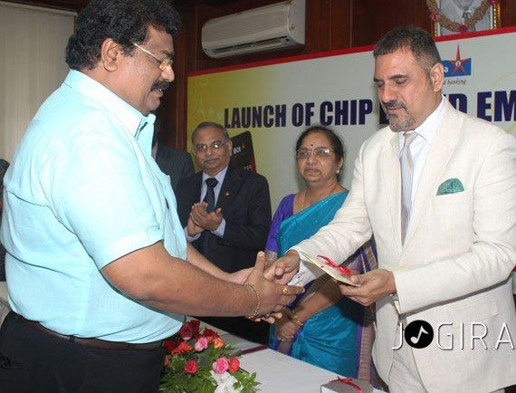 सुजीत तिवारी को बैंक ऑफ़ इंडिया का सम्मान