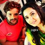 bhojpuri actress kajal raghwani and khesari al