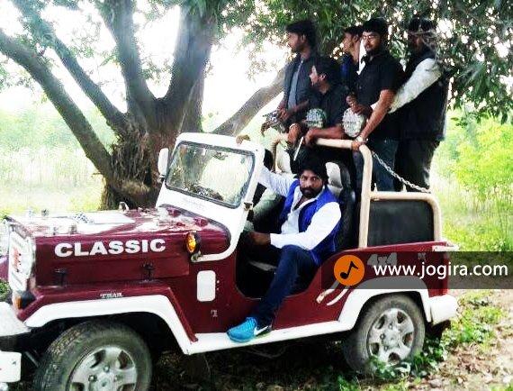 bhojpuri film gazab ka pyar shooting still