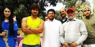 bhojpuri film jai shri ram shooting started