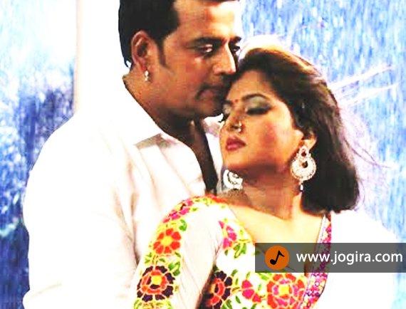 ravi kishan and anjana singh-in bhojpuri film shahenshah
