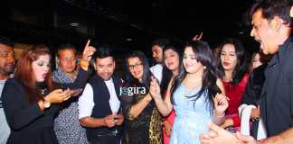 amrapali dubey birthday party