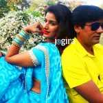 bhojpuri actress poonam dubey and satendra singh in bhojpuri film ghaat
