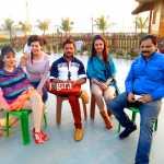 khesari lal yadav still from bhojpuri film jila champaran set