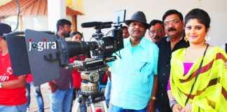 neha shree during bhojpuri film arjun pandit shooting