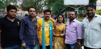 भोजपुरिया पावर स्टार पवन सिंह की भोजपुरी फिल्म धड़कन की शूटिंग मुंबई में