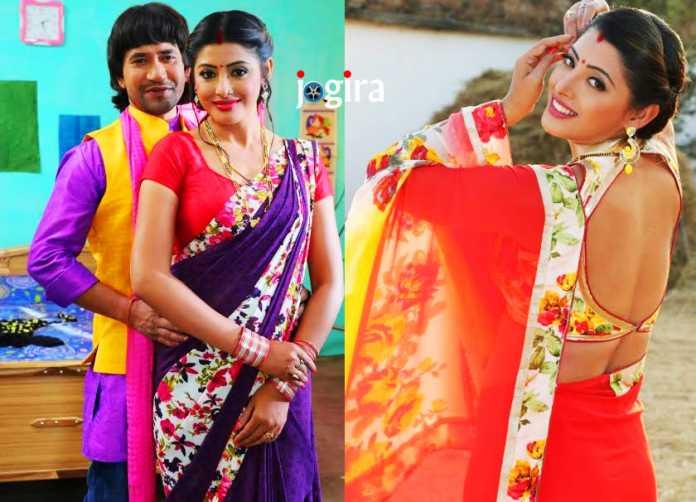 संचिता बनर्जी और दिनेशलाल यादव निरहुआ की भोजपुरी फिल्म निरहुआ हिन्दुस्तानी 2