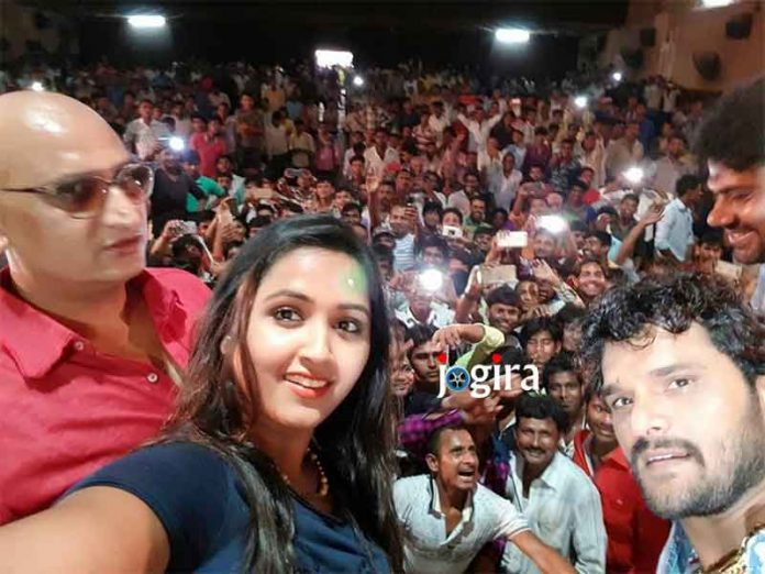 khesarilal yadav and kajal raghwani starrer bhojpuri movie main sehra bandh ke aaunga will released on chhath