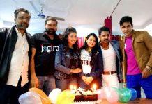 Sonam's birthday on the sets of Bhojpuri film Wanted