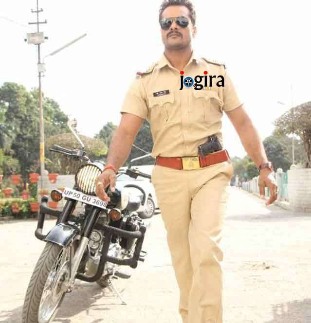 See the picture of Khesari Lal Yadav from the Bhojpuri film Dabang sarkar set.