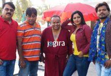 bhojpuri heroine Anjana Singh's Bhojpuri film Munna Mawali shooting starts