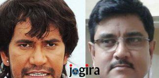 दिनेश लाल यादव निरहुआ के पत्रकार शशिकांत के साथे गाली गलौज