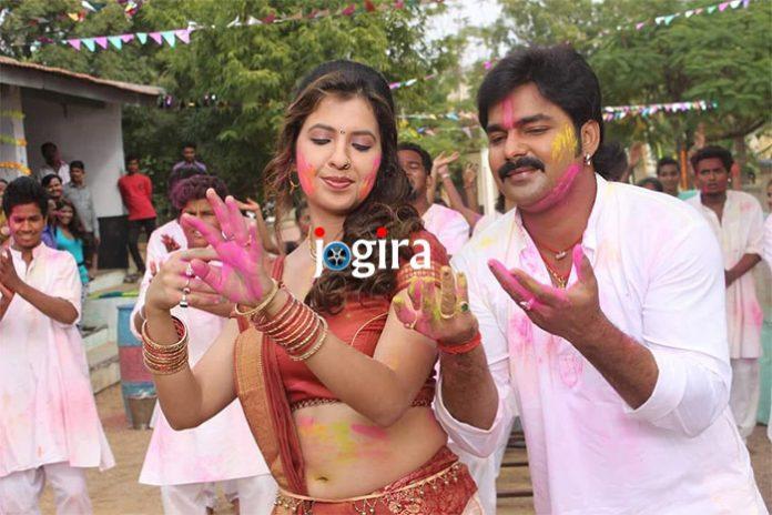 ख्याति सिंह और पवन सिंह एक साथ भोजपुरी फिल्म बलमुआ तोहरे में