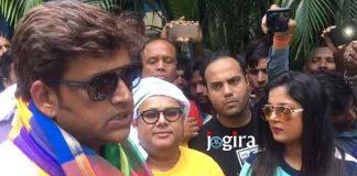 फिल्म सनकी दरोगा का प्रमोशन करने पहुंचे अभिनेता रवि किशन