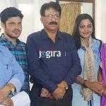 भोजपुरी फिल्म काजल की शूटिंग