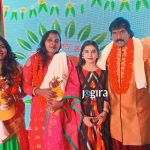 संजोली पांडेय जी, प्रीति कुशवाहा जी के साथे राकेश तिवारी बबलू जी
