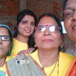 कार्यक्रम मे भाग लेत जय भोजपुरी जय भोजपुरिया परिवार के सदस्या